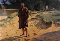 der von jesus und den aposteln vertriebene judas by pierre ribera