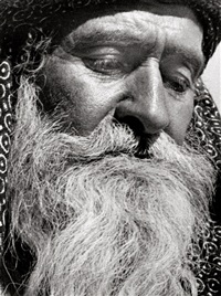 elijahu baleila, mountain jew from caucasus and founder of the el roy (close-up) by walter zadek