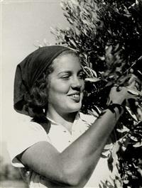 kibbutz workers (2 works) by walter zadek