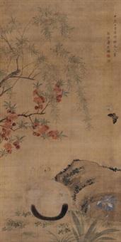 耄耋图 by jiang tingxi