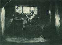 scene from the film das alte gesetz by hans natge