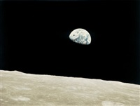 earthrise from apollo 8 by william anders