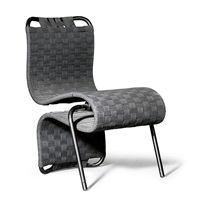 stuhl/chauffeuse, modell flipping chair by ron arad