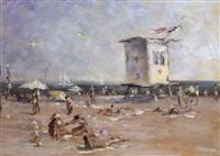 east beach, santa barbara by joseph areno
