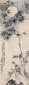 月竹图 by liu zigu