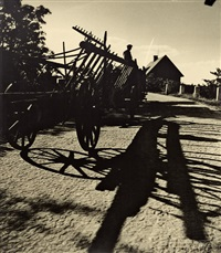wagon with shadows by josef vetrovsky