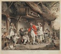 retour du soldat suisse dans le pays by sigmund freudenberger