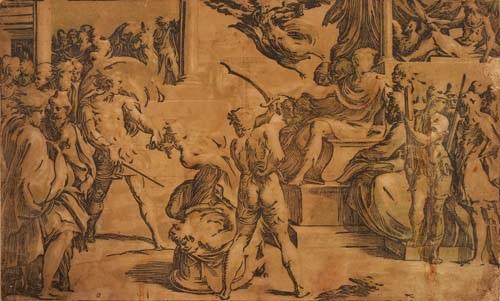 martyrium der heiligen petrus und paulus by antonio