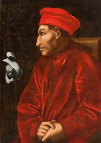 porträt des cosimo de medici by pontormo (jacopo carucci)