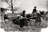 russian refugees near pskov, russia by mikhail trachman