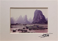 chinese agricultural scenes (set of 3) by don hong-oai