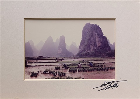 chinese agricultural scenes set of 3 by don hong oai
