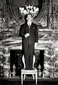 salvador dali by weegee
