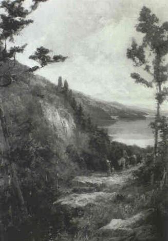 on the trail by augustus fredrick kenderdine