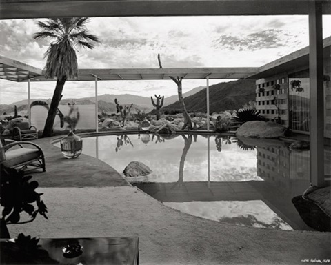loewy residence designed by albert frey palm springs california by julius shulman