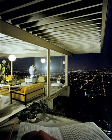case study house 22 playboy designed by pierre koenig los angeles california by julius shulman