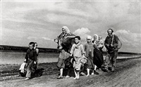 russian refugees returning home by galina sankova