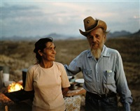 ray & grace, the devil's graveyard, big bend, texas by wim wenders