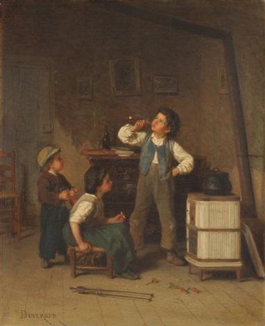 verbotenes rauchen by théophile emmanuel duverger