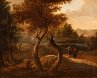 waldlandschaft by cornelis huysmans