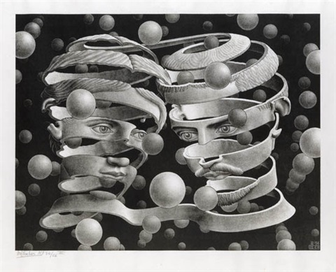 bond of union by m c escher