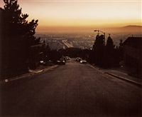 view of los angeles (+ 2 others; 3 works) by wim wenders