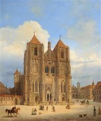 dom zu regensburg by maximilian albert hauschild
