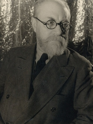 portrait of the artist henri matisse by carl van vechten