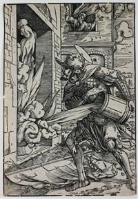 der heilige florian in aktion by heinrich vogtherr the younger