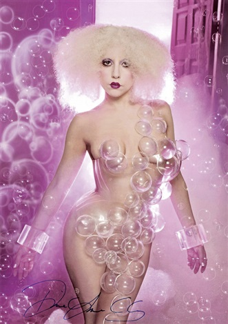 lady gaga for rolling stone by david lachapelle