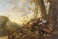 jagdstillleben by michiel simons
