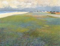 la plage déserté by alphonse lanoe