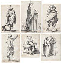 charakterstudien (set of 6) by jacques callot