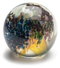 planet paperweight by josh simpson