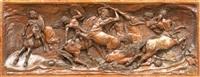 darstellung der kentaurenschlacht by adriano cecchi