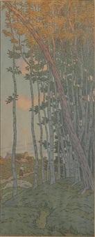 les derniers rayons by henri rivière