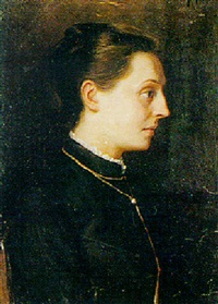 portrait of madame lihoratka by fjodor ivanovitch rerberg