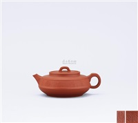 teapot in imitation of ancient pattern by jiang jianxiang