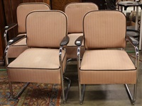art moderne armchairs (4 works) by k.e.m. weber