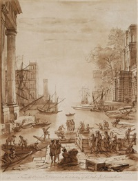 landschaften (after claude lorrain) (set of 30) by richard earlom
