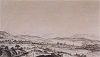 vue de la ville et des environs de zurich, prise du côte du nord by heinrich freudweiler
