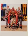 g&g at their opening in the national gallery beijing by dana lixenberg