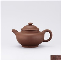 teapot of globular shape by xu hantang