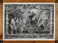 novae legis triumphus (after rubens) by nicolaes lauwers