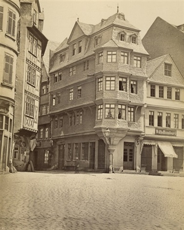Haus Zum Luther In Frankfurt Am Main By Karl Friedrich Mylius On Artnet