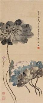 荷花 by ling wenyuan