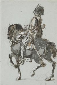 reiteroffizier by johann conrad gessner
