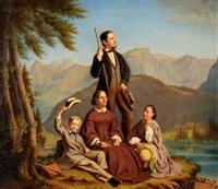 familie am seealpsee by johannes mettler