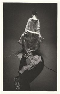 a portrait of shunkin (3 works) by eikoh hosoe