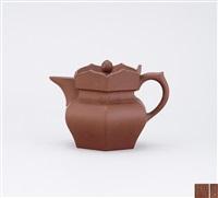 monk's cap teapot by zhou guizhen
